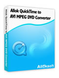 Allok QuickTime to AVI MPEG DVD Converter