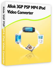 allok 3gp psp mp4 ipod video converter gratuitement