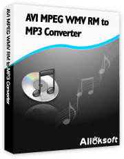 AVI MPEG WMV RM to MP3 Converter